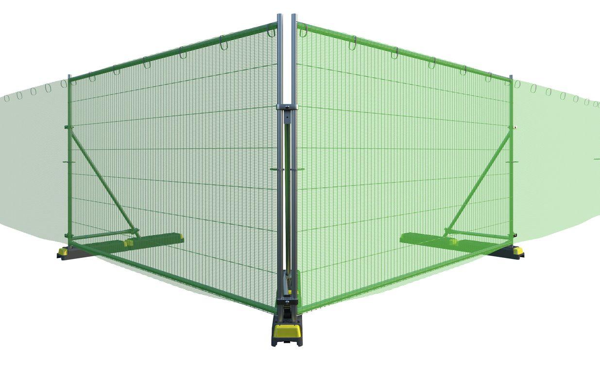 Tennis Net Green 50 x 2.0