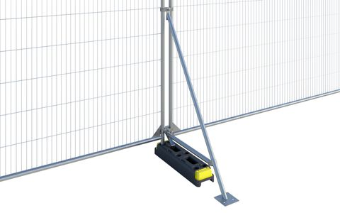 Fence Stabiliser with Brace