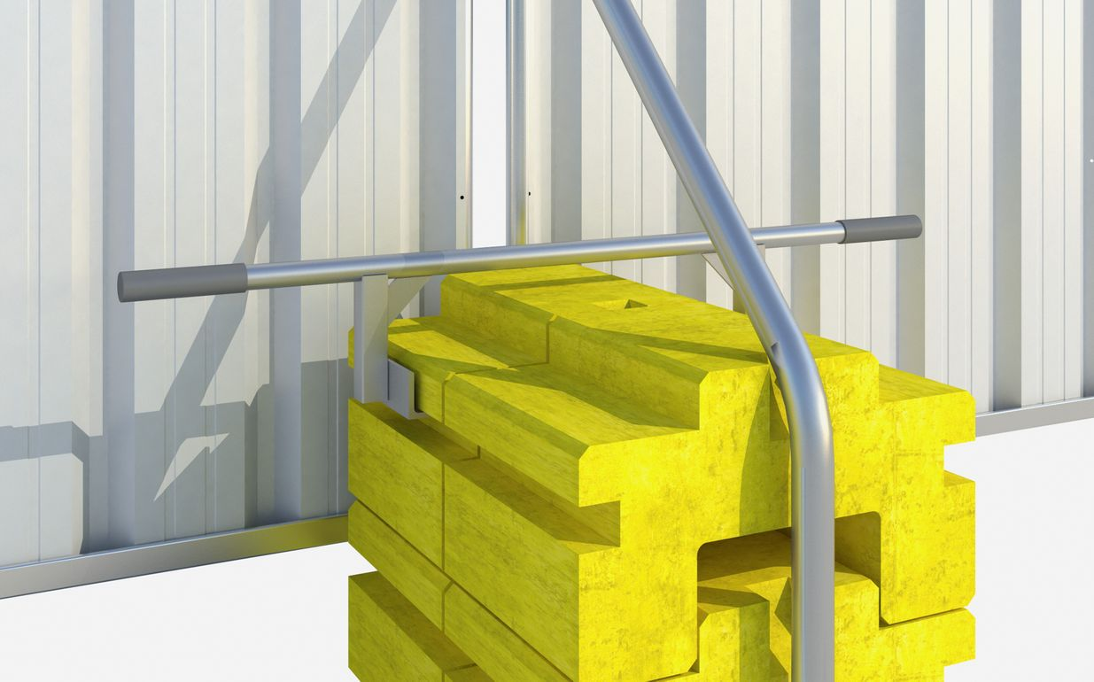 Fence Ballast Block Lifter