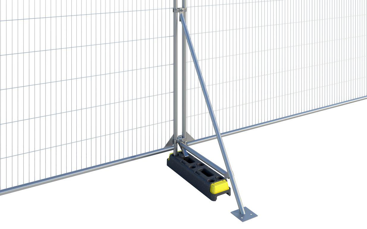 Fence Stabiliser with Brace