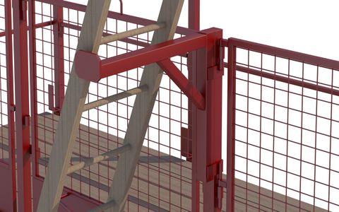 Smartguard Ladder Access Bracket