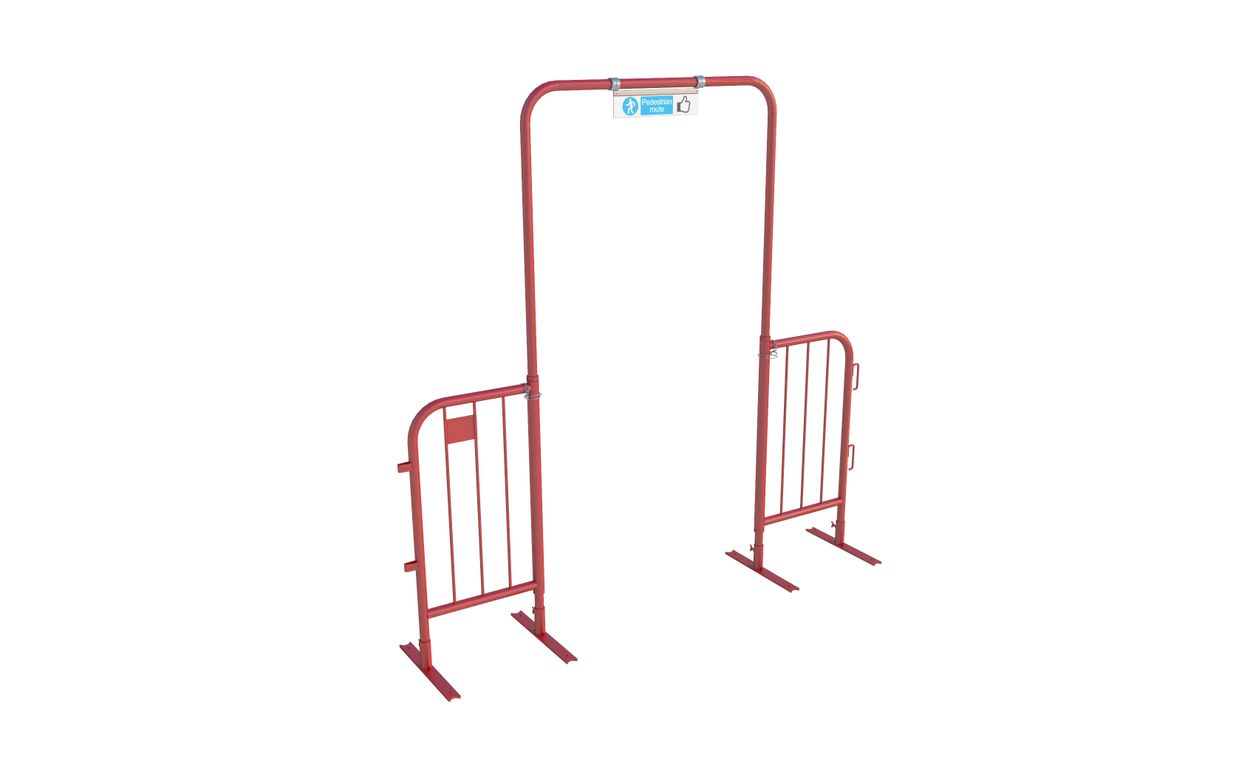 Walk Through Barrier (Collapsible)