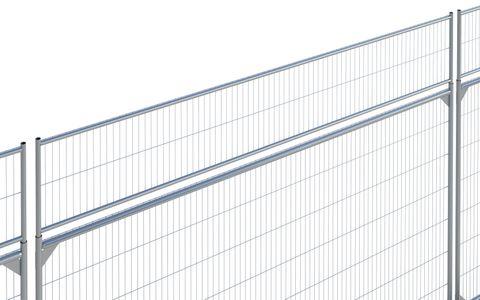 Anti-Climb Extension Panel Galv CE