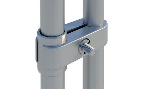 Lockable Gate Hinge Coupler