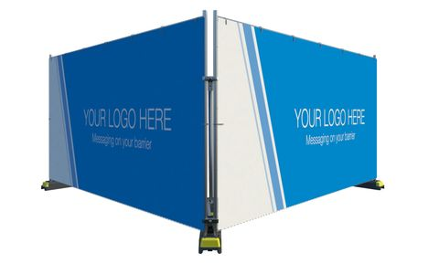 Printed Banner Solid 3.5 x 1.8