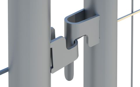 Panel Hook & Eye (ST)