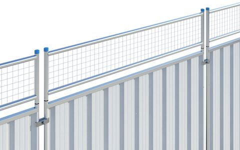 Steel Hoarding Panel Extension