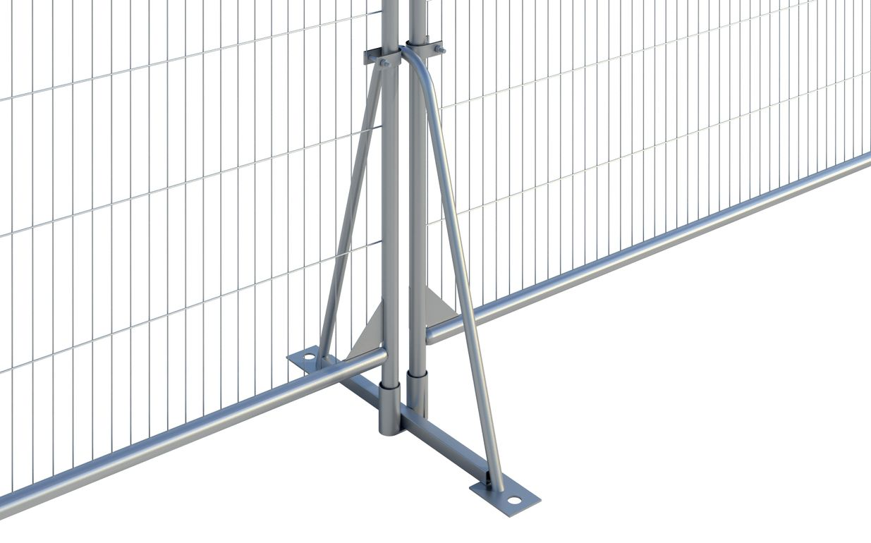 Tube Fence Foot Stand