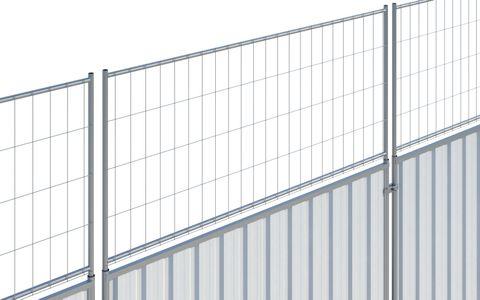 Euro Steel Hoard Panel Extension CE