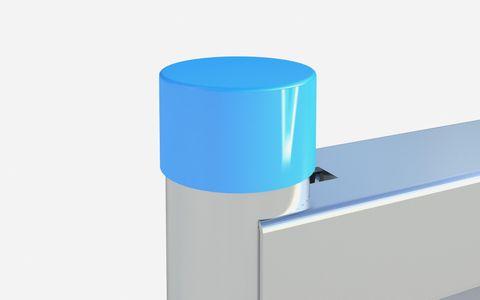 Plastic Cap External Dia 38mm Fit - Red