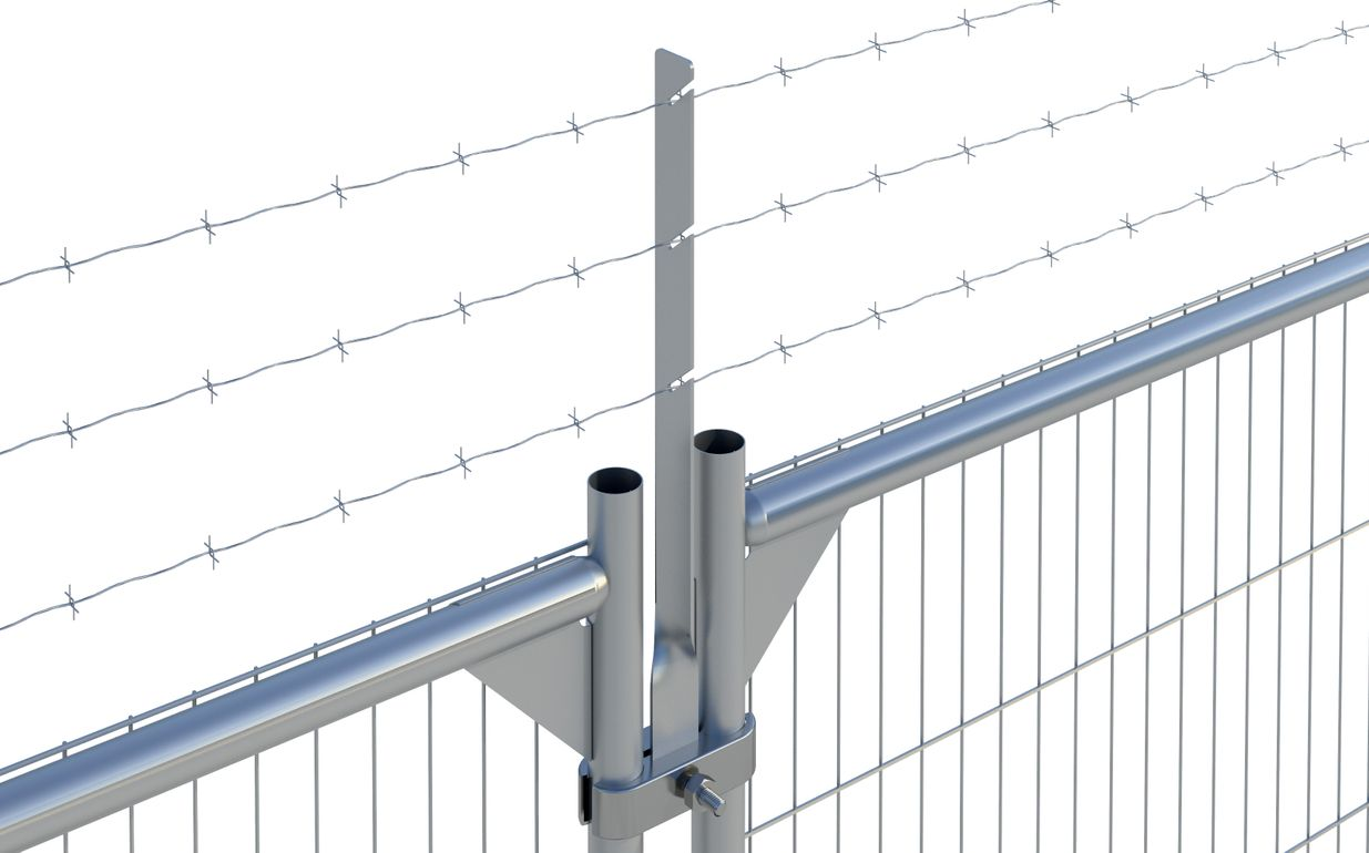 Barbed Wire Extension (Round Top Panel)
