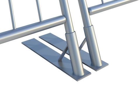 Sloping Barrier Foot – Euro
