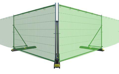 Tennis Net Green 50 x 1.8