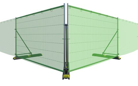 Tennis Net Green 50 x 2.0