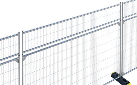Anti-Climb Extension Panel Galv