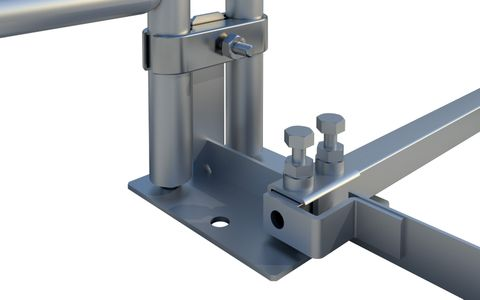 Big Foot Tubular Spigot Base