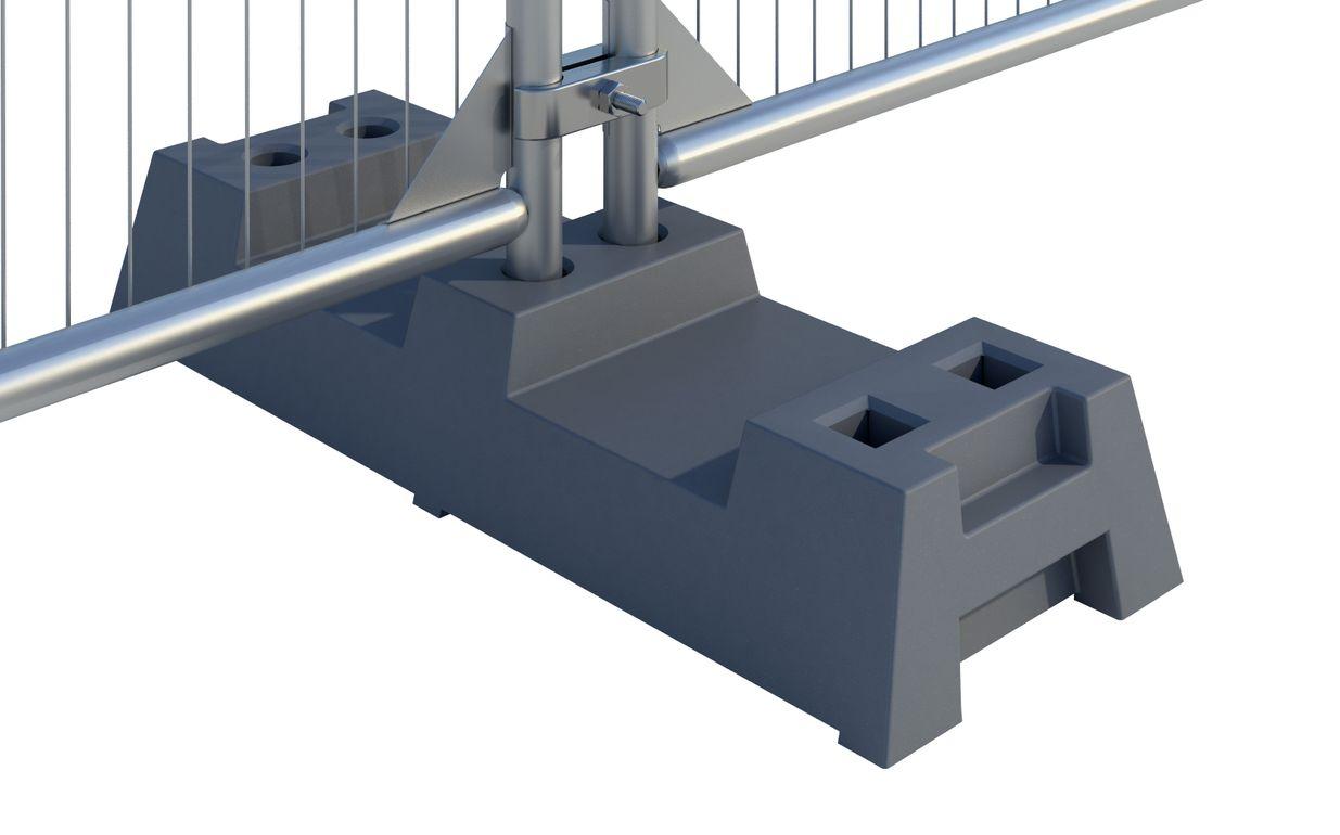 Thermo-Plastic Foot - Grey DE