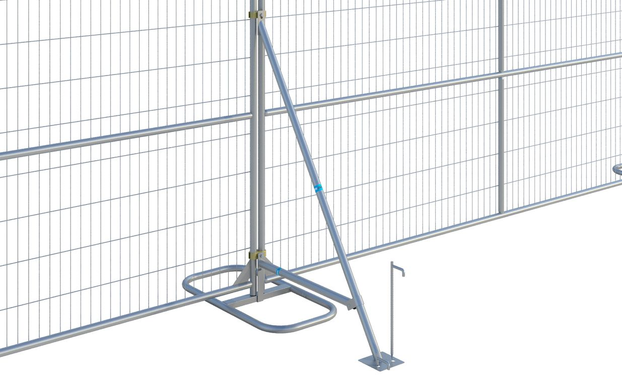 Fence Stabilizer with Brace - Coming Soon