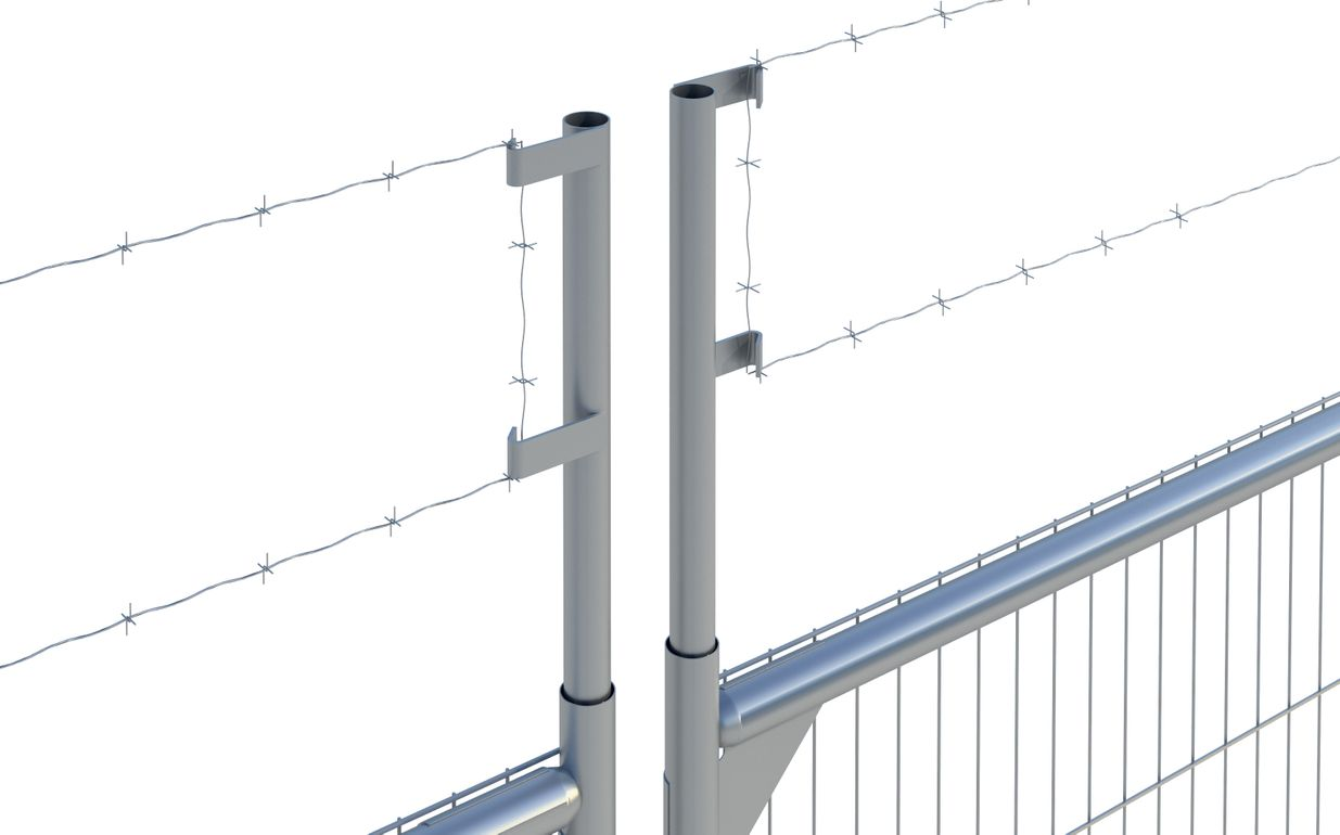Barbed Wire Extension (Square Panel)
