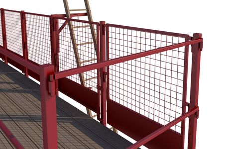 Smartguard End Handrail