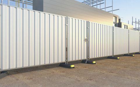 Steel Hoard Pedestrian Gate CE