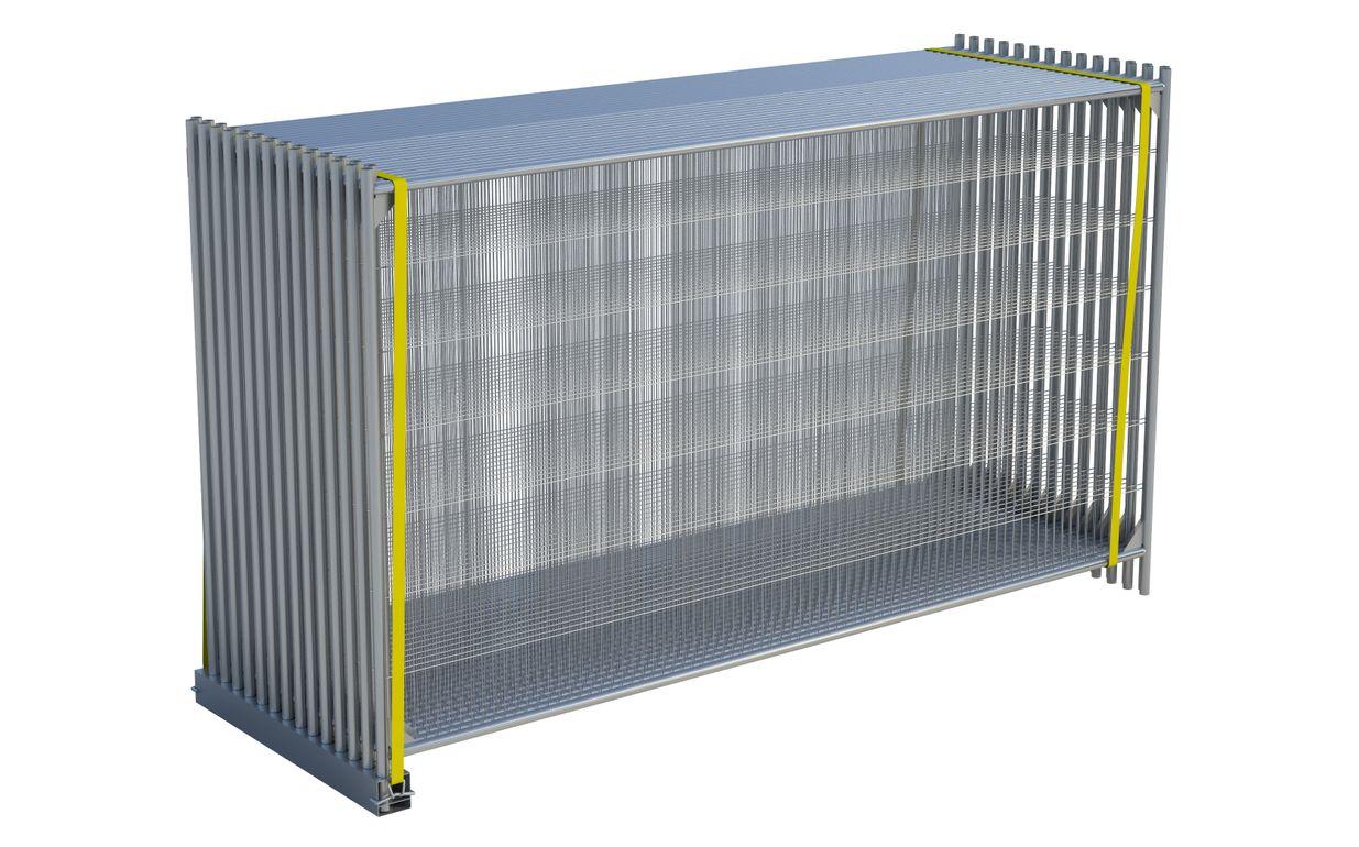 Single Panel Bunker & 2 Belts
