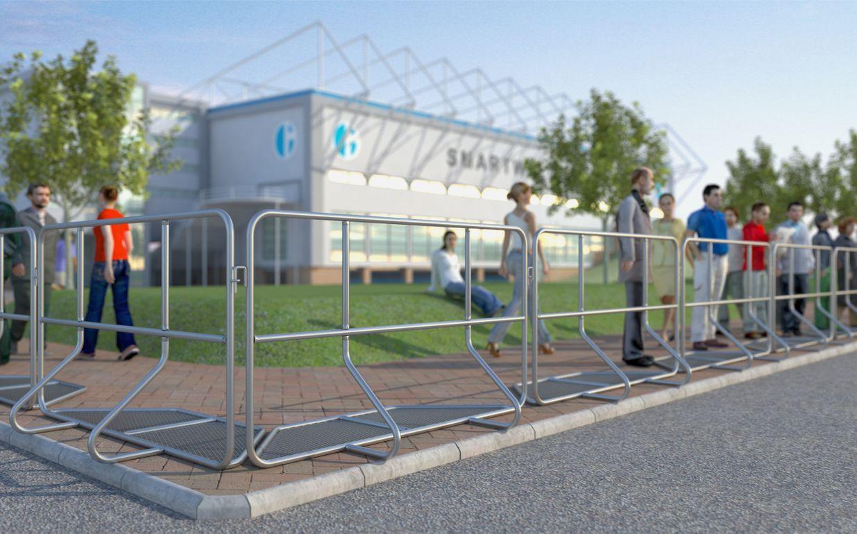 Police Barrier Stiff