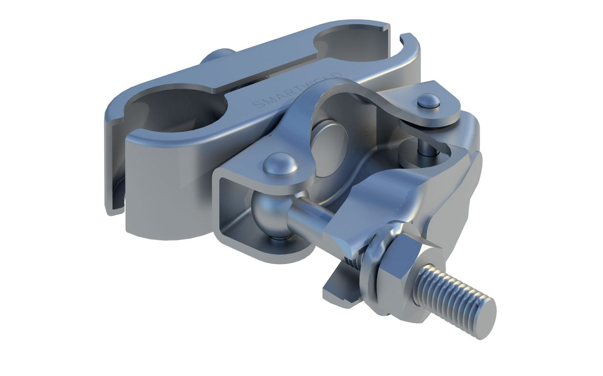 In Ground Scaffold 2 Fence Coupler