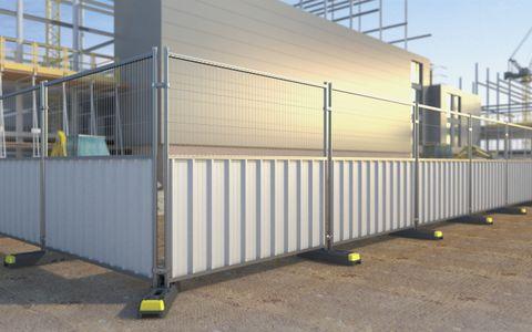 Steel Hoard Panel Half Mesh