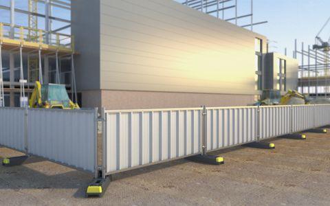 Steel Hoard Panel 1.0m