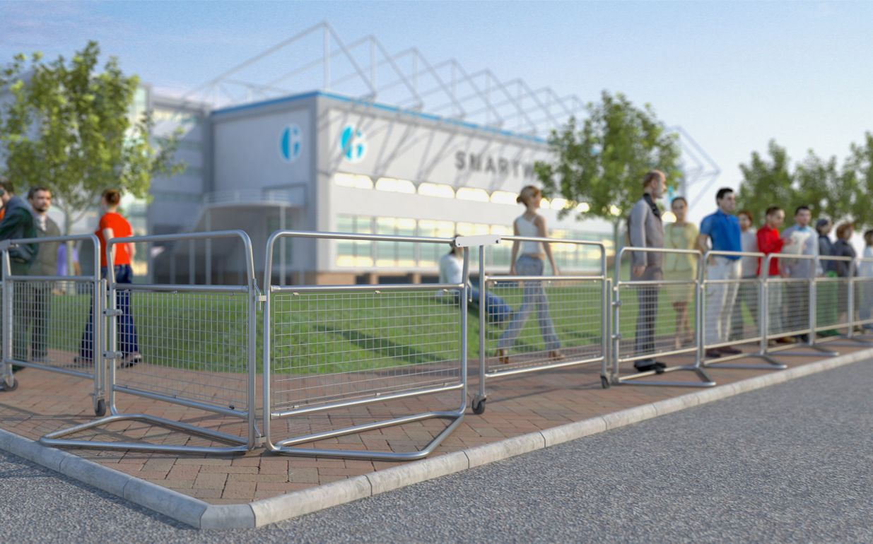 Police Barrier Gate HD (5ft)