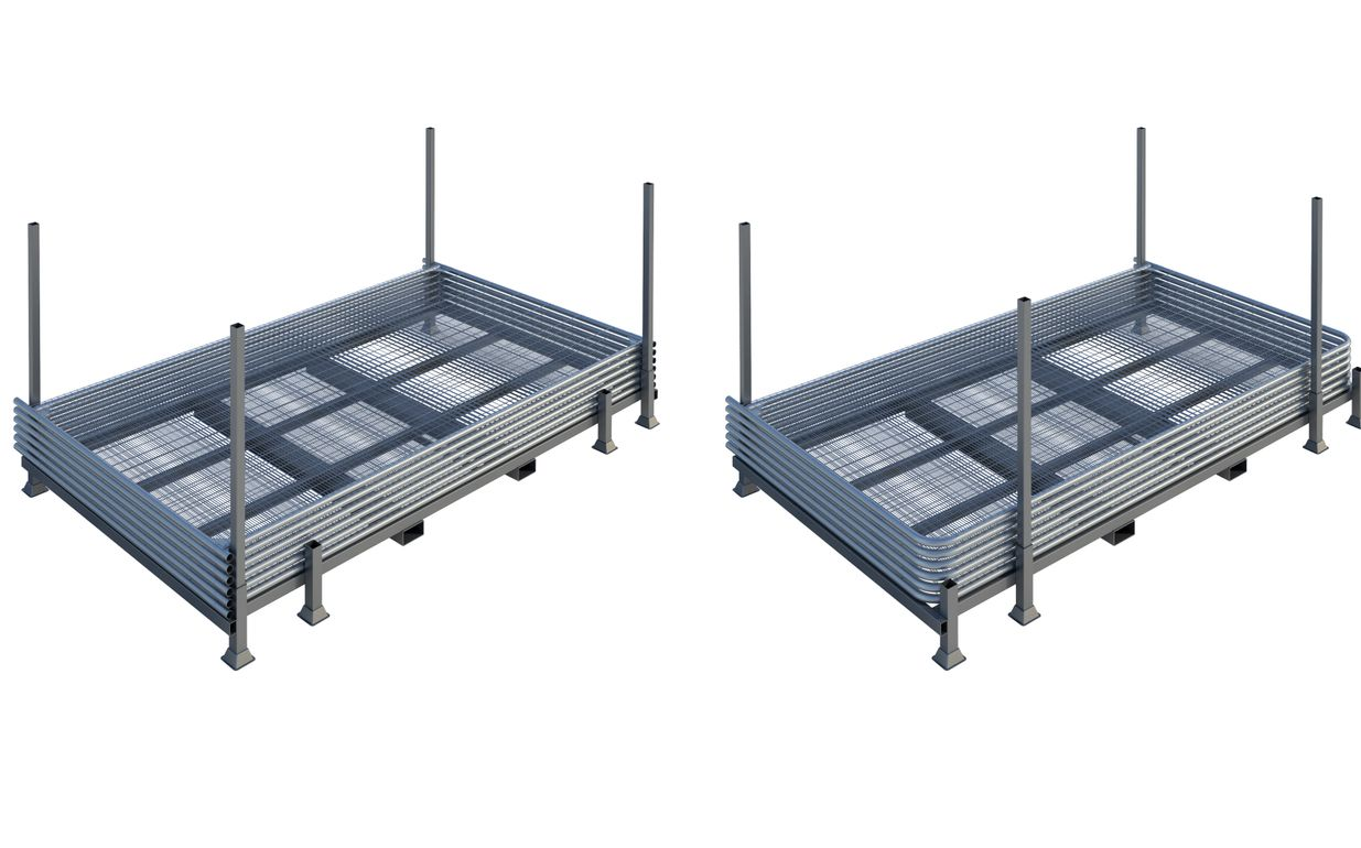 Universal Fence Panel Stillage
