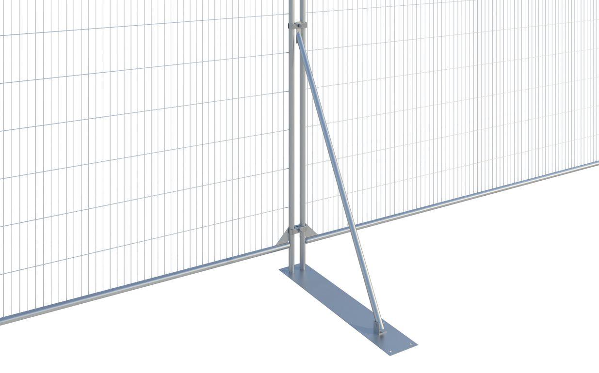Fence Stabiliser c/w Large Plate CE