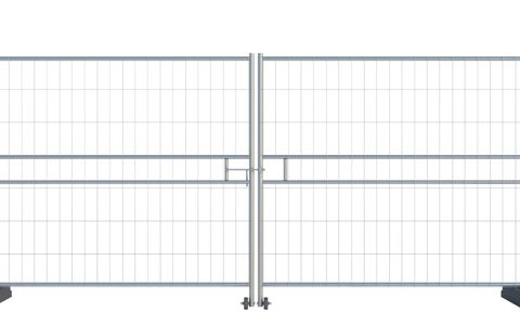 Euro Vehicle Gate (2 x 2.2m) CE