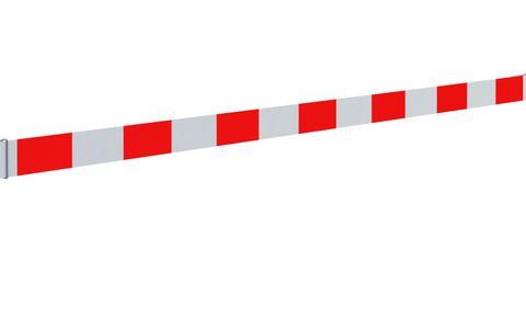 Reflective Fence Strip (PVC) 3.5m (Red-White)