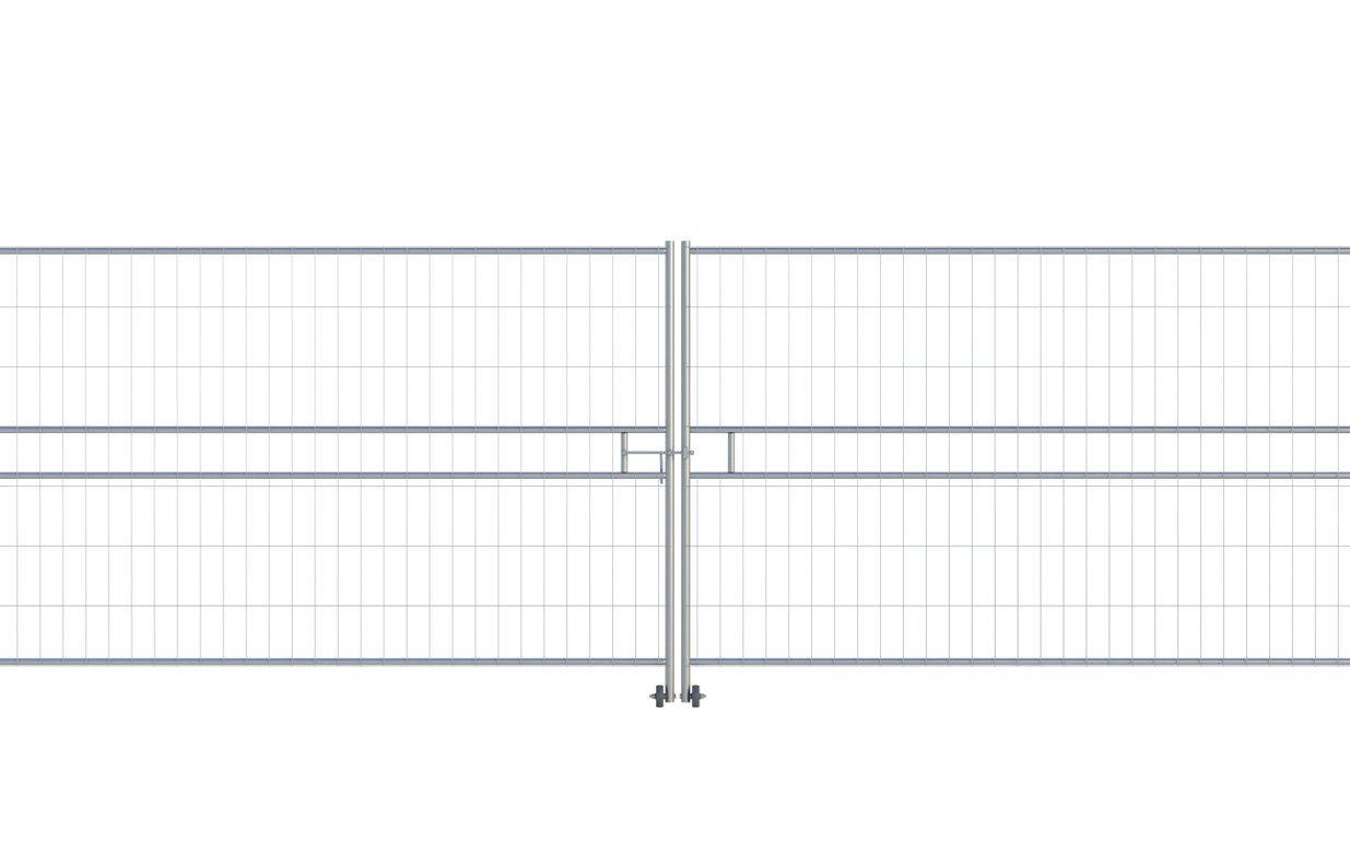 Euro Vehicle Gate (2 x 3.5m) CE