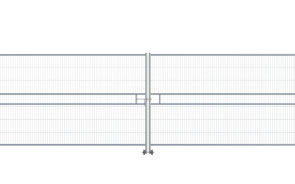 Euro Anticlimb Vehicle Gate (2 x 3.5m) CE