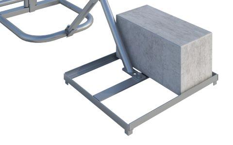 Cinder Block Tray