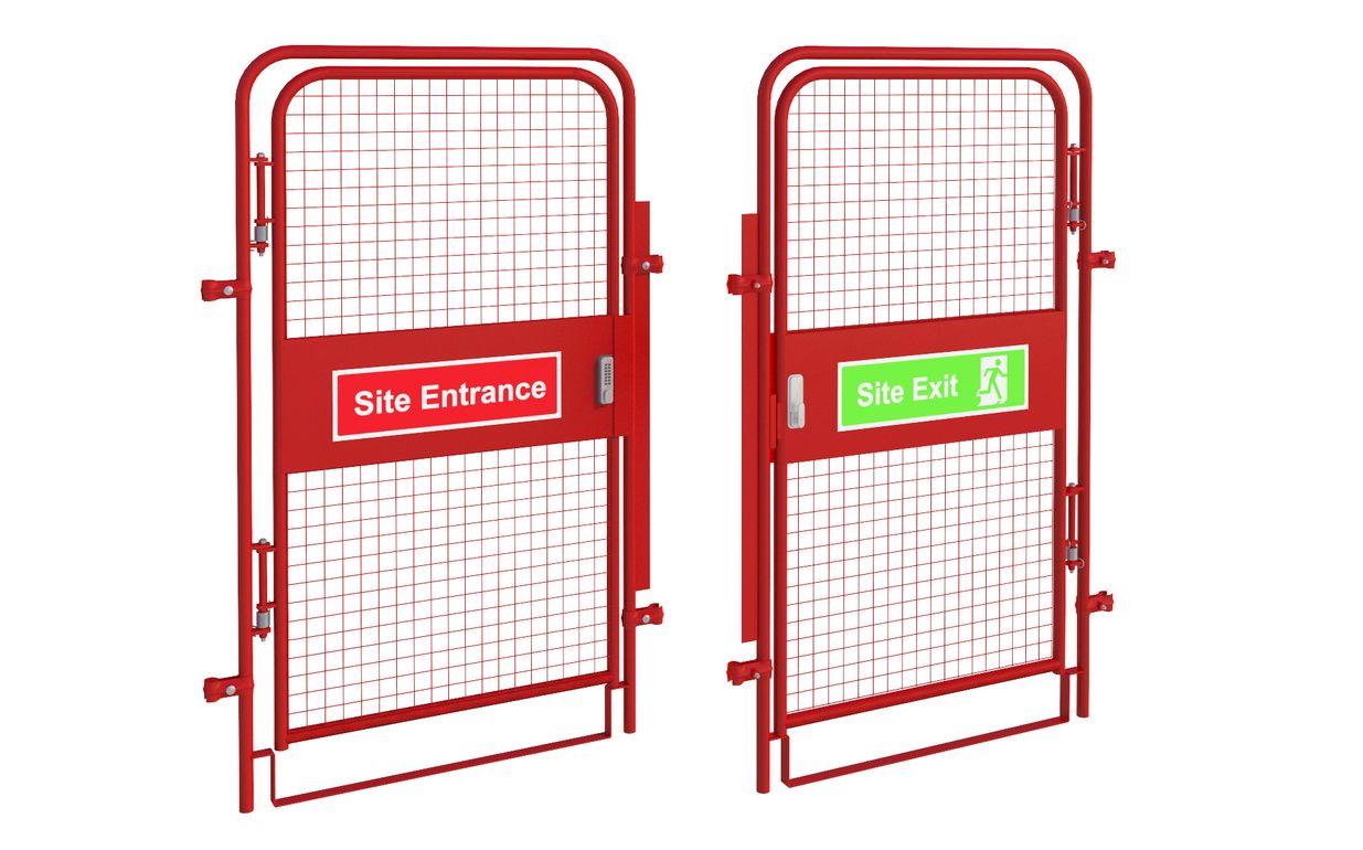 Pedestrian Gate - Digi Lock