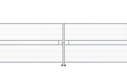 Euro Anticlimb Vehicle Gate (2 x 3.5m) CE