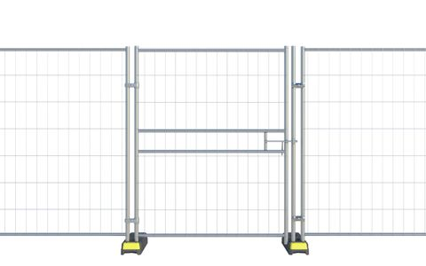 Euro Pedestrian Gate With Latch CE