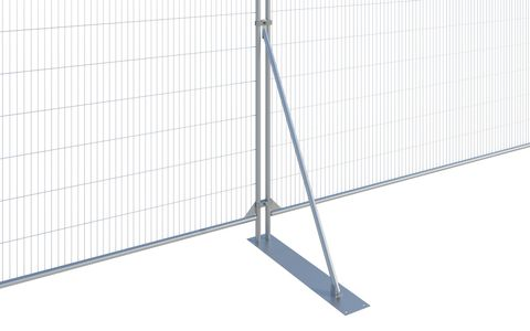 Fence Stabiliser c/w Large Plate CE