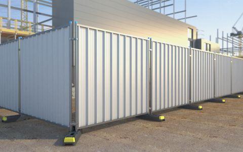 Steel Hoard Panel 2m