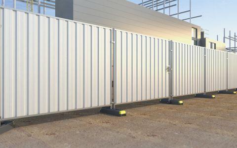 Steel Hoard Pedestrian Gate (2.3m) CE