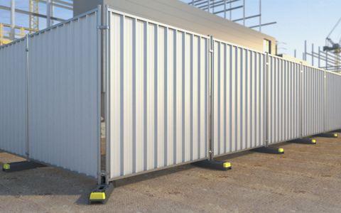 Steel Hoard Panel 2.4m